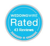 Wedding Wire Rated 43 Reviews