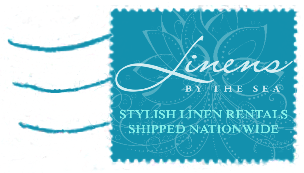 Linens by the Sea - Stylish Linen Rentals Shipped Nationwide