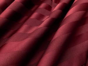 poly stripe burgundy