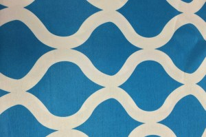 Ocean waves and ocean breezes.  Linens by the Sea loves this design!