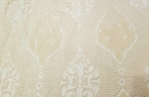 This solid and sheer pattern is so stately in its exquisite design.