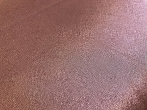 crepe back satin blush