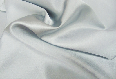 Crepe Back Satin Silver