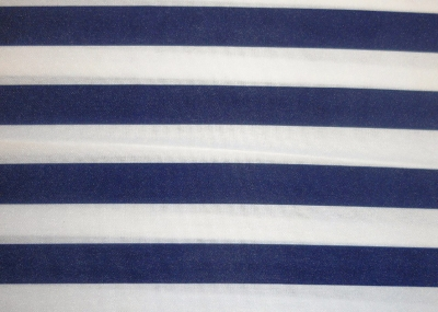 Lamour Navy & White Stripe