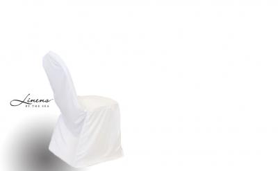 Chair Cover Scuba White
