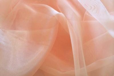 Organza Peach