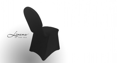 Chair Cover Spandex Black