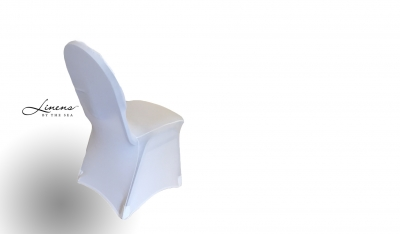 Chair Cover Spandex White