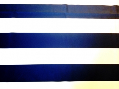 Three Inch Wide Stripe Navy & White